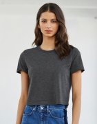 Dames T-shirt Bella 8882 Flowy Cropped
