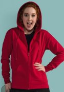 Dames Hooded Sweaters full zip SG29F