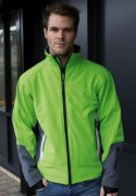 Softshell Heren Jas Result R119