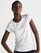 Dames T-shirt Biologisch Roll Sleeve T M81