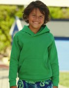 Kinder Hooded Sweater Fruit of the Loom Lightweight 62-009-0