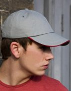 Cap 6 panel Brushed Cotton RC024P