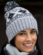 Dames Muts Result De luxe Fair Isle Hat R356X