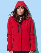 Dames Softshell Jas Stedman Hooded ST5340