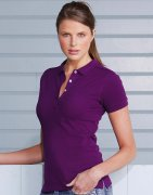 Dames Poloshirt Russell Stretch R-566F-0