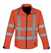 HAVEP softshell Werkjas High Visibility RWS