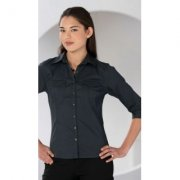 Dames blouse Russell 918F 3/4 mouw