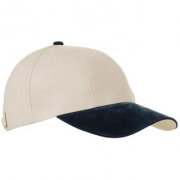 Cap 6 panel turned brushed suede AR1731