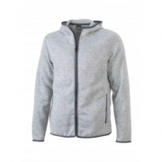 Fleece Vest James & Nicholson Hooded JN589