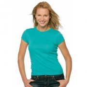 Dames T-shirts Bella T Round Neck 1001