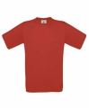 T-shirts, unisex B&C exact 150 deep red