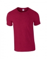T-shirts Gildan Ring Spun 64000 antique cherry red
