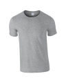 T-shirts Gildan Ring Spun 64000 heather grey
