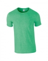 T-shirts Gildan Ring Spun 64000 heather military green