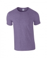 T-shirts Gildan Ring Spun 64000 heather purple