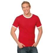 T-shirts Ringer Tee Fruit of the Loom 61-168-0